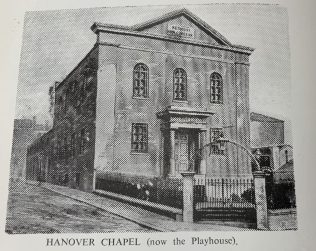 Hanover Street Methodist New Connexion Church, King Cross Street, Halifax.