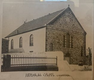 The Billy Bray Memorial Bible Christian Church in Carharrack Cornwall