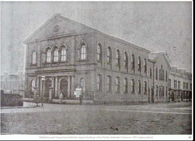 Middlesbrough, Grange Road United Methodist chapel   Handbook of the Primitive Methodist Conference, 1932
