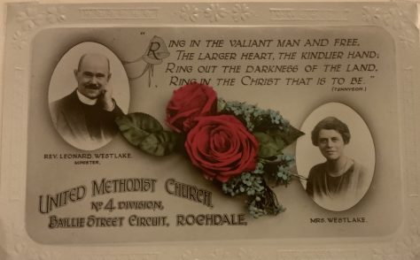 Westlake, Rev Leonard