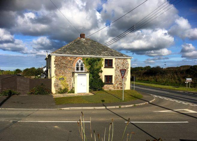 Bangors Bible Christian chapel front elevation   Jo  Lewis