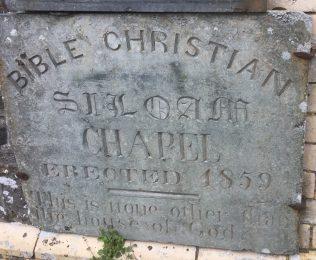 Siloam Bible Christian  Methodist Church Foundation stone