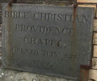 Providence Bible Christian  Methodist Church Boscastle