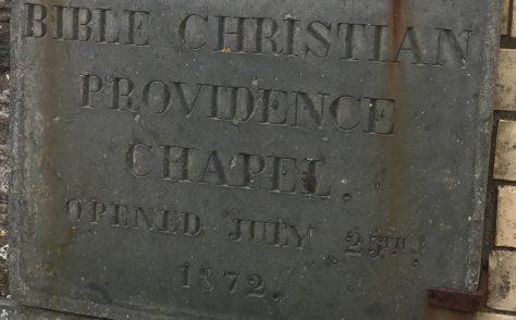 Boscastle, Providence Bible Christian  Methodist Church