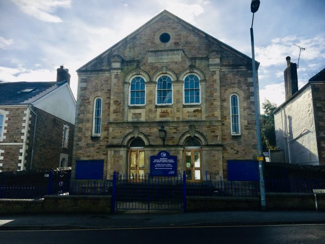 Falmouth Bible Christian chapel | Jo  Lewis
