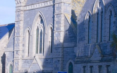 Newquay Claremont United Methodist Free Church chapel 1892