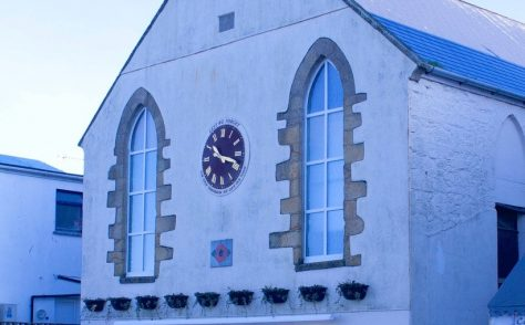 Newquay United Methodist Free Church chapel 1865