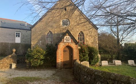 Tregonetha Bible Christian chapel