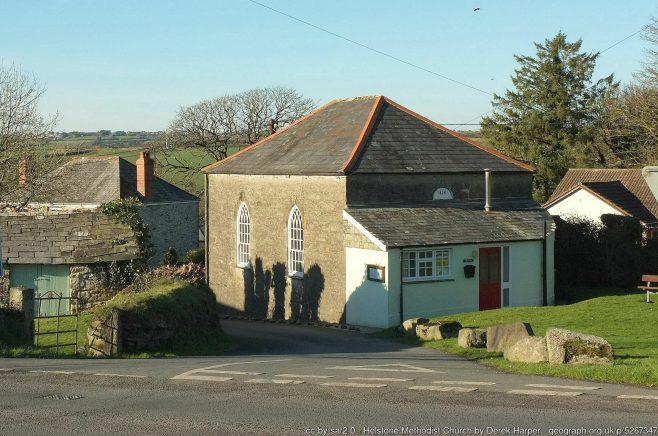 Helstone: the 1826 chapel | Derek Harper