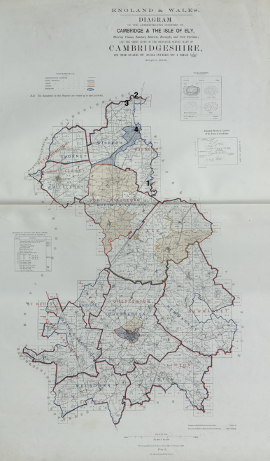 UMFC places of worship in Cambridgeshire registered before 1867 | This work incorporates historical material provided by the Great Britain Historical GIS Project and the University of Portsmouth through their web site A Vision of Britain through Time (https://www.VisionofBritain.org.uk).