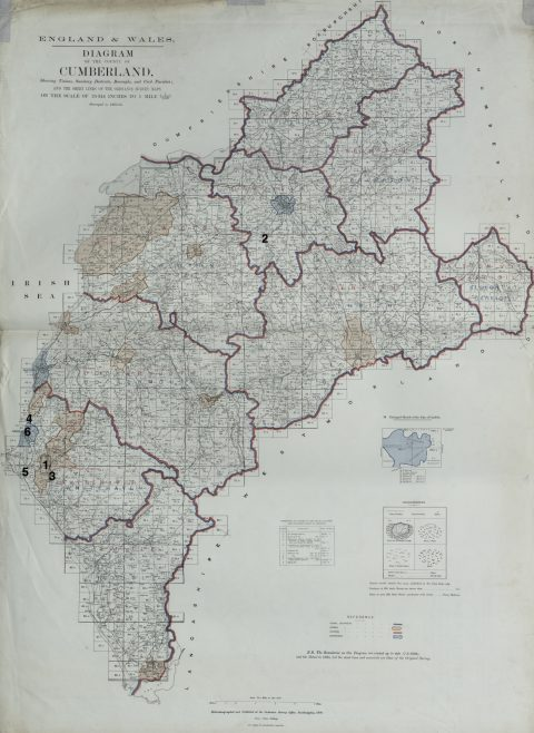 UMFC places of worship in Cumberland registered before 1867 | This work incorporates historical material provided by the Great Britain Historical GIS Project and the University of Portsmouth through their web site A Vision of Britain through Time (https://www.VisionofBritain.org.uk).